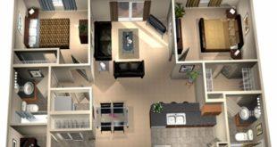 صور هندسة بيوت صغيرة