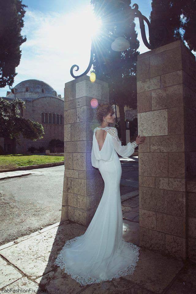 صور اجمل الفساتين البيضاء الطويلة
