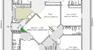 صور خرائط منازل عربية صغيرة