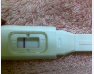 صور ظهور خط خفيف جدا جدا في اختبار الحمل