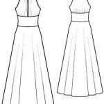 كيفيت تفصيل الفساتين