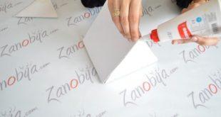 صور طريقة عمل مادة لاصقة من النشا لكيس الورق