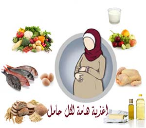 صور التغذية السلمية للحامل