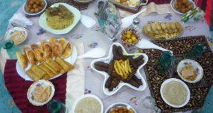صور وجبة فطور رمضان