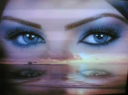صور اجمل بيت شعر عن عيون المراة
