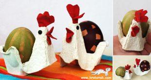 صور كيفية استغلال كرتون البيض