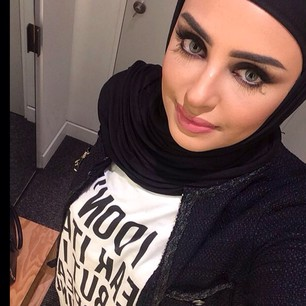 صور حجاب اسود للبنات