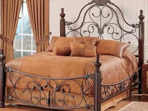 صور سرير نوم حديد
