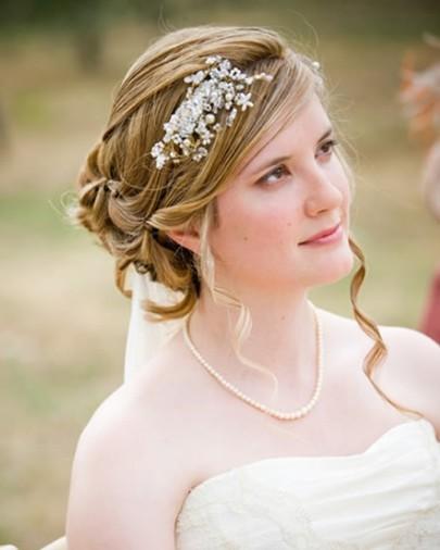 صور تسريحة شعر للعروس 2019