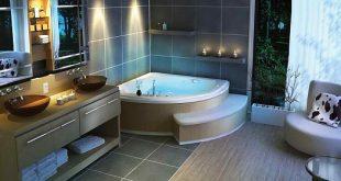 صور ديكورات حمامات جاكوزي