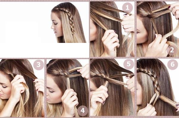 صورة صور لتسريحات الشعر الكثيف