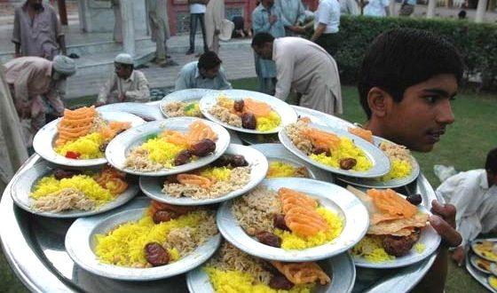صور وجبات افطار في رمضان