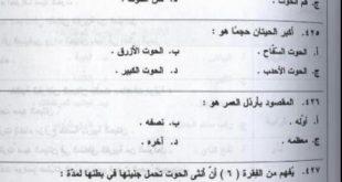 صور نموذج امتحان القدرات في السعوديه