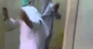 صور مراجع يصور الممرضة خلسة اثناء تواجده في العيادة