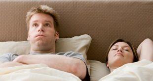 صور النوم بجوار الزوجة
