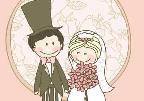 صور تعليم رسم العريس والعروسة