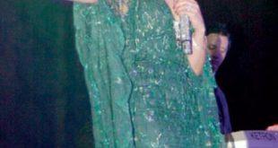 صور هيفاء وهبي فستان اخضر
