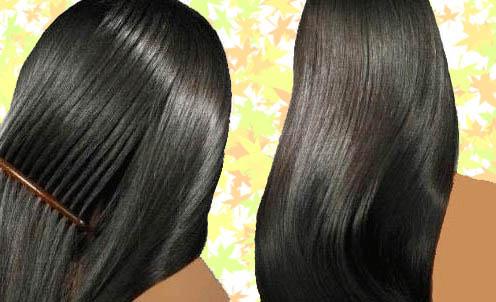 صور تكثيف الشعر وصفات طبيعية و صحية