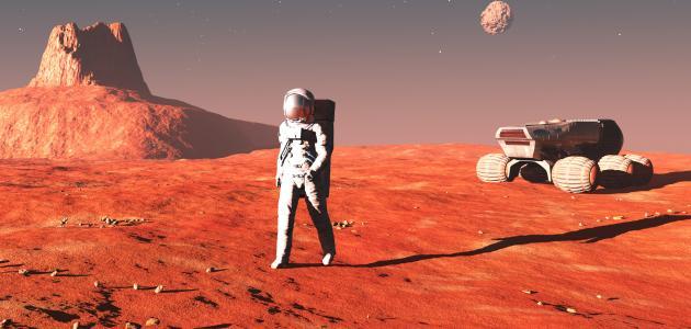 صور موضوع تعبير عن كوكب المريخ