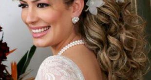 تسريحات الشعر للعرائس