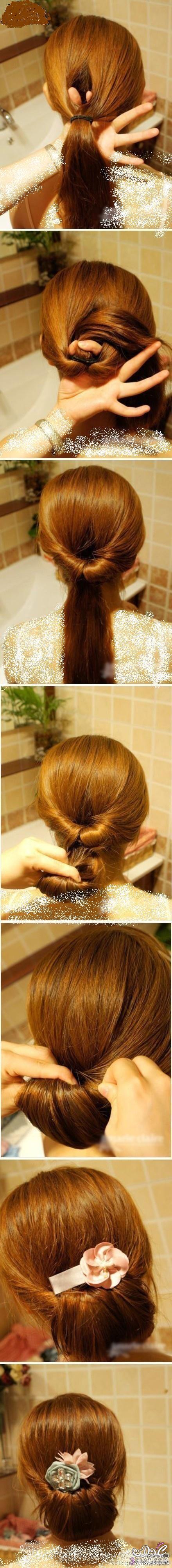 صور اجمل تسريحات الشعر للبنات