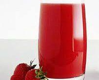 صورة عصير فراولة الجديد