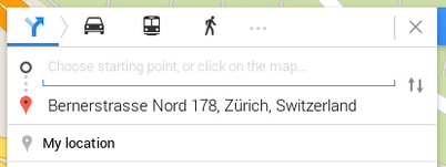 صور طريقة معرفة عنوان المنزل