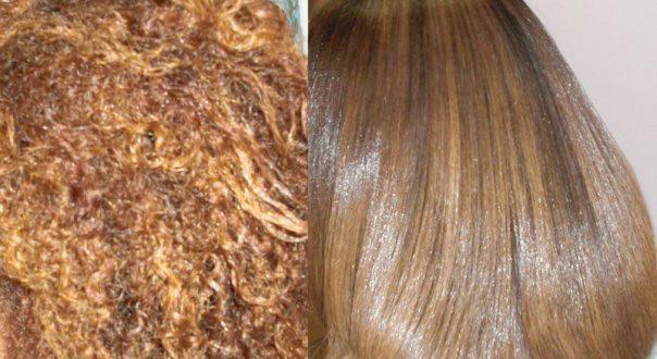 صور تمليس الشعر طبيعيا