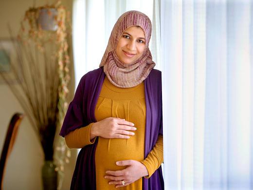 صور تاثير الصيام على الحامل