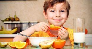 اطعمة لتقوية مناعة الاطفال