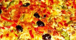 صورة مقادير البيتزا والصور والخطوات