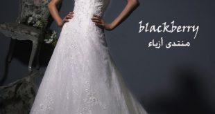صورة فساتين زفاف شركه الابداع