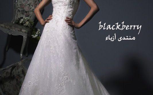 صور فساتين زفاف شركه الابداع