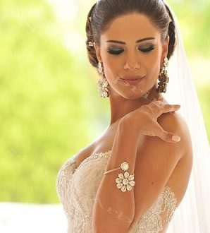 بالصور تسريحات الشعر للعرائس في الجزائر 2019 24764 298x330