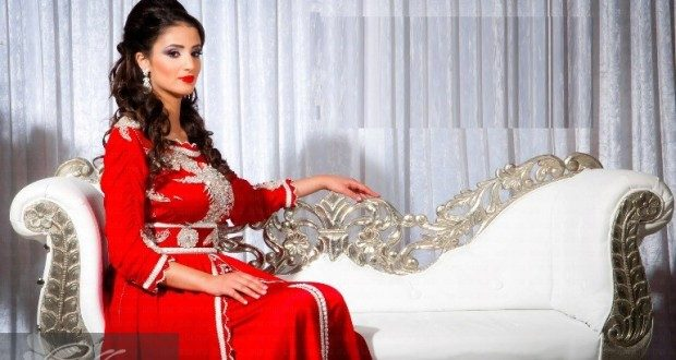 بالصور اخر صيحات القفطان المغربي 2019 5911 620x330