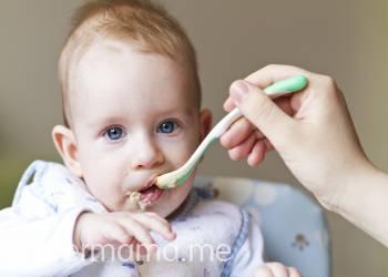 صور اكل الرضيع اربع شهور