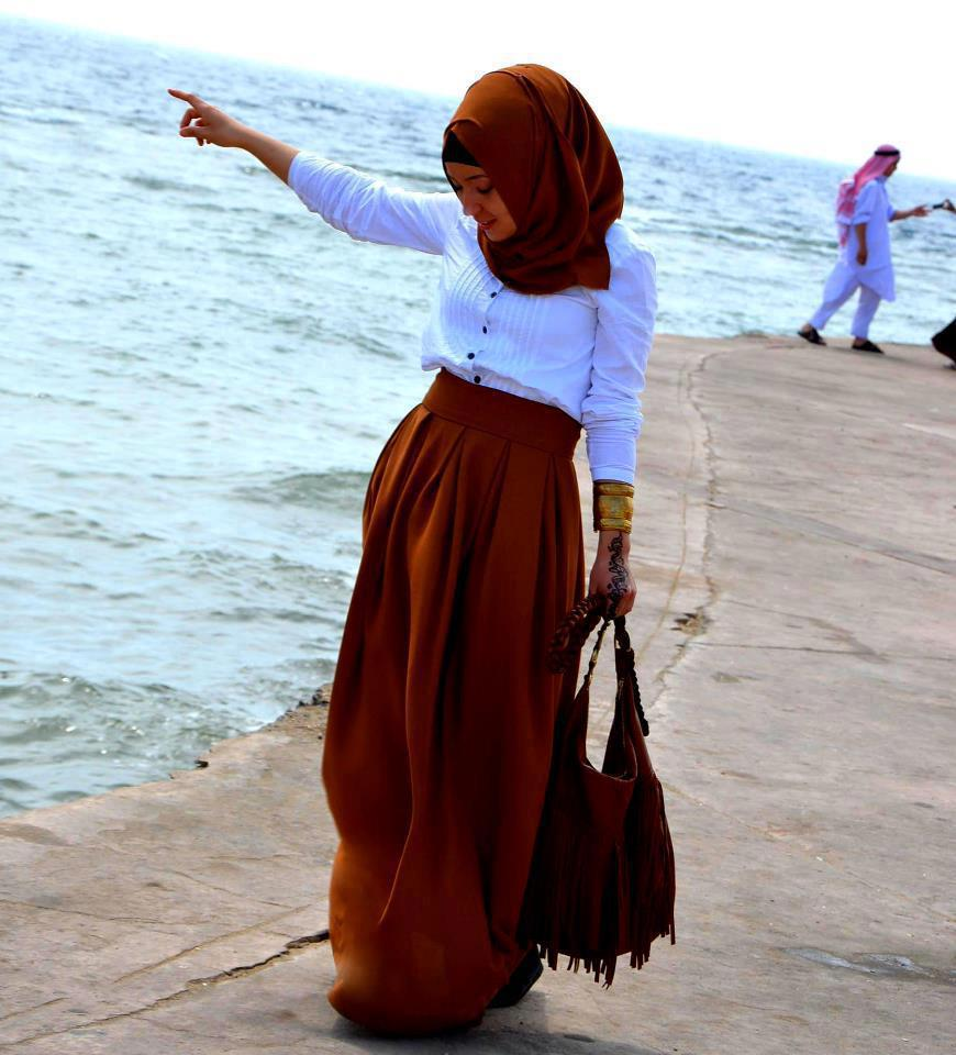 صور ملابس محجبات للعيد