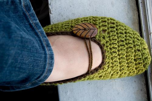 بالصور طريقة عمل حذاء بالكروشيه unnamed file 252