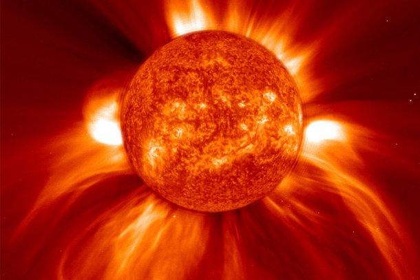 صور حرارة الشمس المغرب