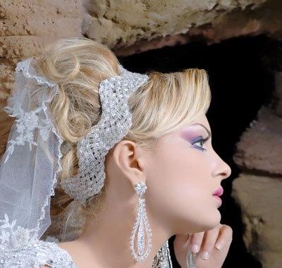 صور تسريحات عروسات 2019