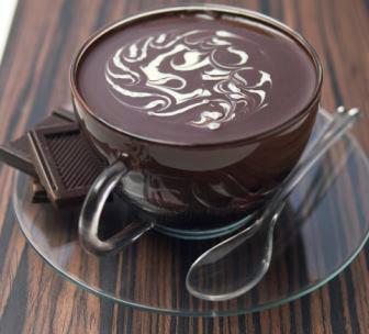 صور المهلبية بالشوكولاتة بالصور
