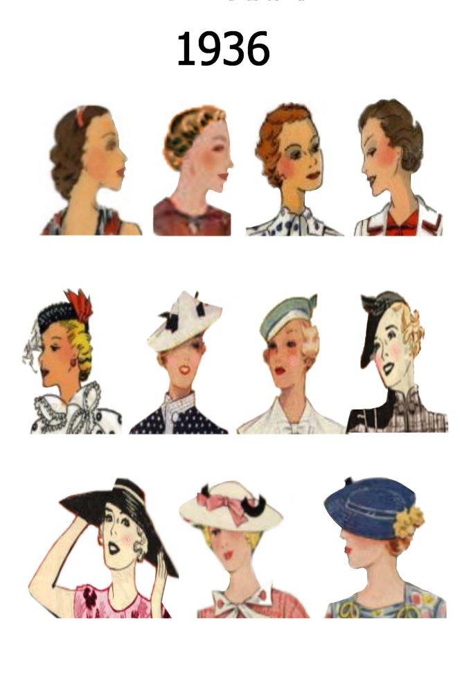 صور تسريحات شعر بالقبعة